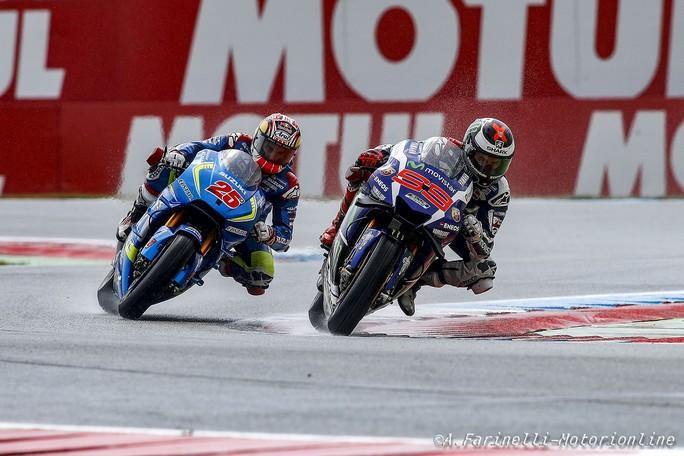 """MotoGP: Jorge Lorenzo parla del """"problema"""" pioggia"""