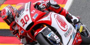 Moto2 Sachsenring, Qualifiche: Pole position a Nakagami, bene gli italiani con Corsi 4° e Morbidelli 5°