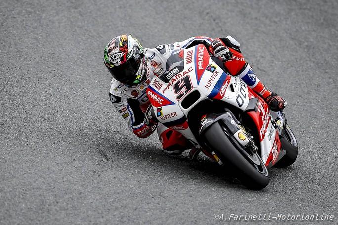 """MotoGP Sachsenring: Danilo Petrucci """"Peccato per la prima fila, ma sono contento del passo gara"""""""