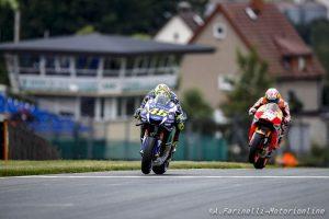 "MotoGP Sachsenring: Valentino Rossi, ""Oggi è andata bene, ieri mi chiedevo se sapessi ancora guidare"""