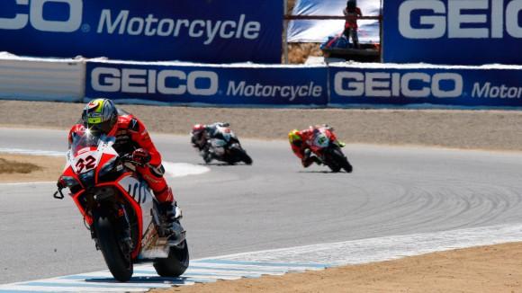 Superbike Laguna Seca, Gara 1: Ottimo sesto posto per Savadori