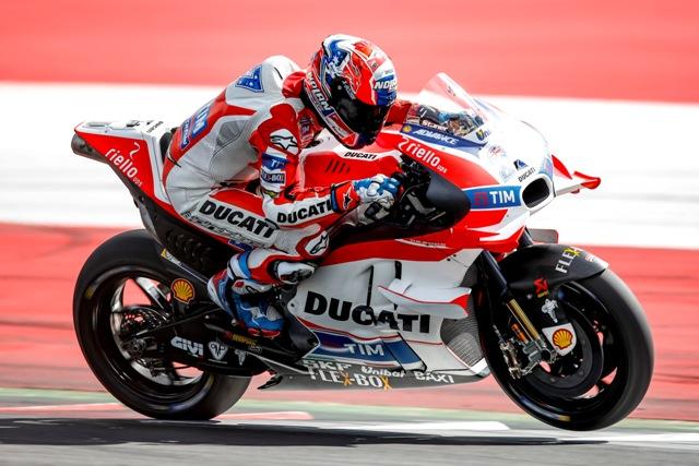 """MotoGP Test Austria: Casey Stoner """"Sono contento ma anche un pò deluso per la caduta a fine turno"""""""