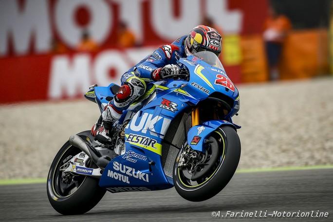 MotoGP Sachsenring, FP2: Vinales davanti a Iannone, Rossi è 14°