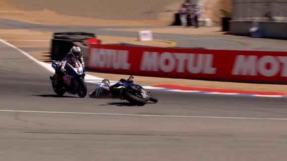 Superbike Laguna Seca, Gara 2: Buon ritmo per Yamaha