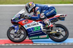 Moto3 Brno: Bastianini 3° e Di Giannatonio 6° nelle libere