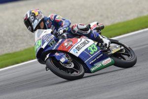 Moto3 Brno, FP1: Comanda Bastianini, sei italiani nella Top Ten