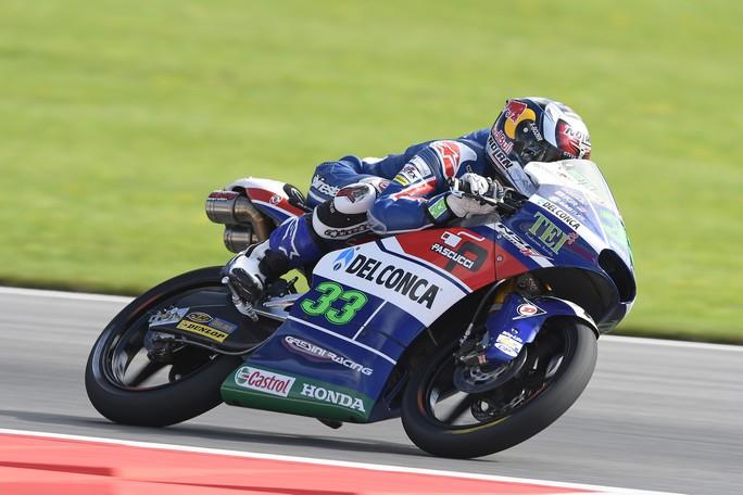 Moto3 Red Bull Ring, Warm Up: Bastianini precede Quartararo e Navarro