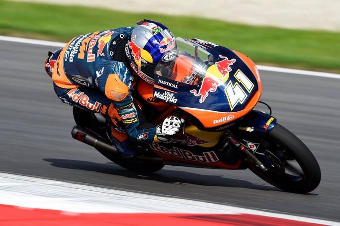 Moto3 Brno, FP2: Binder beffa Migno, bene gli italiani