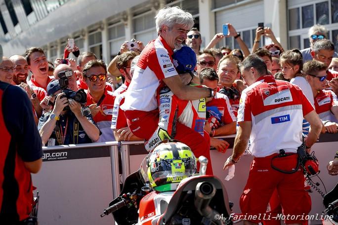 """MotoGP: Gigi Dall'Igna – Ducati, """"Vincere è una soddisfazione enorme!"""""""