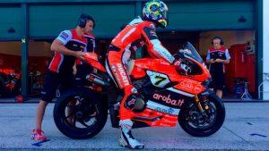 Superbike: Davies impegnato nei test Ducati a Misano