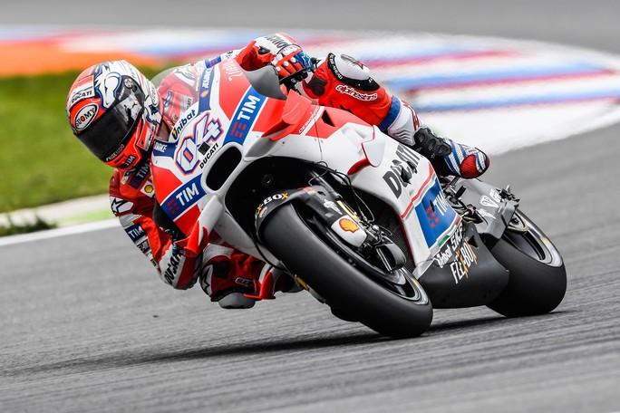 """MotoGP Brno: Andrea Dovizioso, """"Siamo vicini ai primi, ma dobbiamo ancora migliorare"""""""