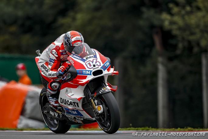 """MotoGP Brno: Andrea Dovizioso """"Tradito dalla gomma che vibrava e poi che casino a fine turno con Marquez e Rossi"""""""