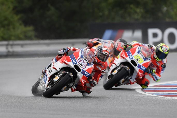 """MotoGP Brno: Andrea Dovizioso, """"C'è grande delusione"""""""