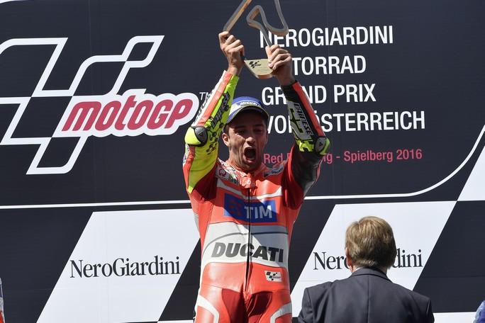 """MotoGP Red Bull Ring: Andrea Iannone, """"Vittoria incredibile, farlo con la Ducati vale doppio"""""""