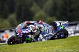 """MotoGP Red Bull Ring: Jorge Lorenzo """"A pochi secondi dal termine ero in pole, ma 4° è molto meglio di quanto potessi sperare"""""""