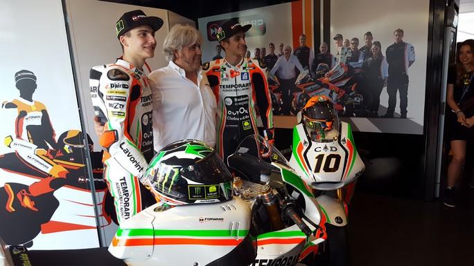 Moto2: Lorenzo Baldassarri e Luca Marini rinnovano con Forward Racing