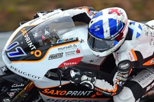 Moto3 Brno, Warm Up: McPhee comanda sotto la pioggia, Antonelli è terzo