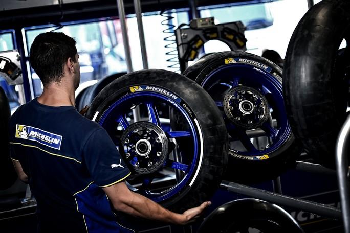 MotoGP:  Michelin all'esame Silverstone