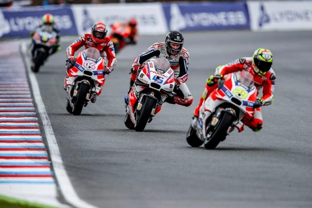 MotoGP Brno: Buon 7°posto per Petrucci, sfiga nera per Redding che perde il podio per colpa delle gomme