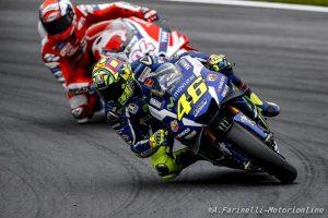 """MotoGP Red Bull Ring: Valentino Rossi, """"Sarebbe bello riuscire a non far scappare le Ducati"""""""