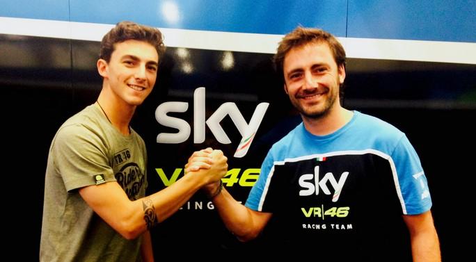 Sky ufficializza il passaggio di Bagnaia in Moto2