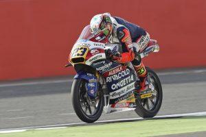 Moto3 Silverstone: Niccolò Antonelli 4°, chiude la prima fila