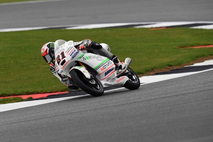 """Moto3 Silverstone: Pecco Bagnaia 6° soddisfatto, """"Ho trovato un buon passo"""""""