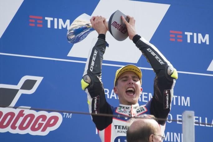 San Marino, Baldassarri vince in Moto2