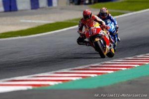 """MotoGP Misano: Marc Marquez parla dopo Silverstone, """"Fortunatamente ho perso solo tre punti da Rossi e ne ho ancora cinquanta di vantaggio"""""""