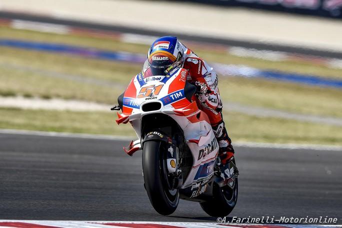 MotoGP Misano: Michele Pirro straordinario 5°, primo tra le Ducati