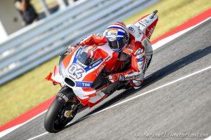 """MotoGP Misano: Andrea Dovizioso, """"Abbiamo un buon passo in ottica gara"""""""