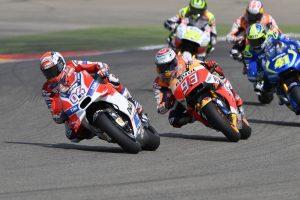 """MotoGP Aragon: Andrea Dovizioso, """"Correre così è frustrante"""""""