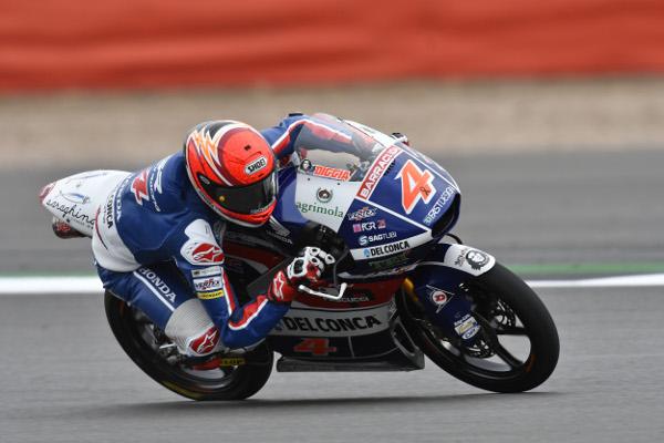 Moto3 Silverstone: Il team Gresini inizia alla grande con Di Giannatonio 3° e Bastianini 5°