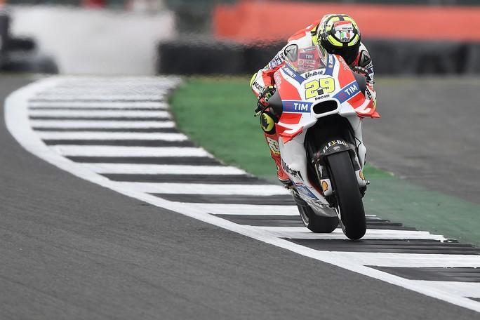 """MotoGP Silverstone: Andrea Iannone, """"Giornata positiva, il nostro potenziale è molto alto"""""""
