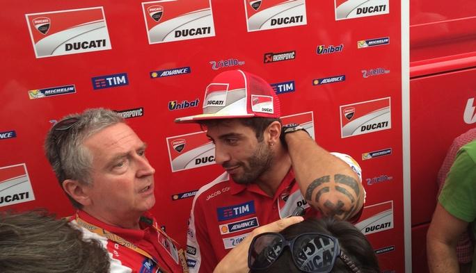 """MotoGP Misano: Iannone, """"Non sono d'accordo con la decisione dei medici"""""""