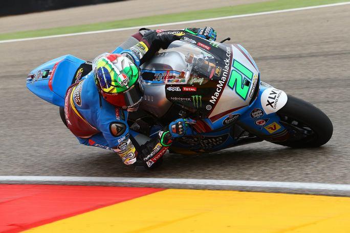 Moto2 Aragon, Warm Up: Miglior tempo per Morbidelli