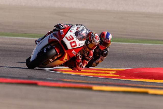 Moto2 Aragon, FP2: Miglior tempo per Nakagami, ma Baldassarri 4° lo tallona da vicino