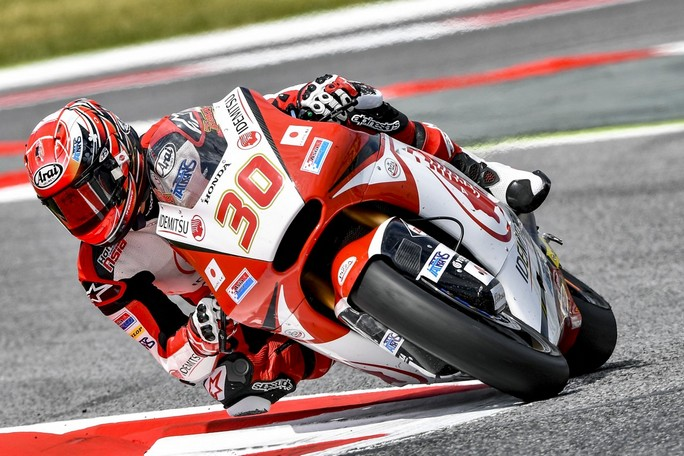 Moto2 Misano, FP1: Nakagami al Top, Baldassarri è quarto