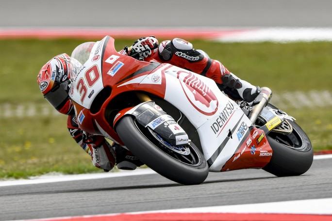 Moto2 Misano, FP3: Nakagami davanti a Morbidelli, Baldassarri è quarto
