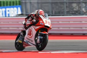 Moto2 Misano, Warm Up: Nakagami in vetta