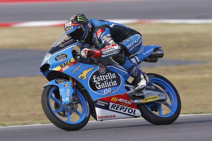 Moto3 Aragon, FP1: Navarro in testa, Bastianini è terzo