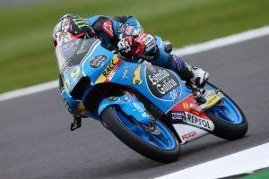 Moto3 Silverstone, FP3: Dominio di Navarro, Bastianini è quarto