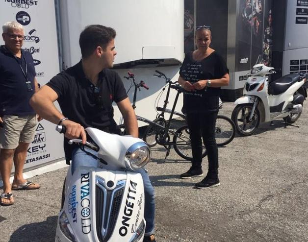 Moto3, Romano Fenati con Ongetta nel 2017