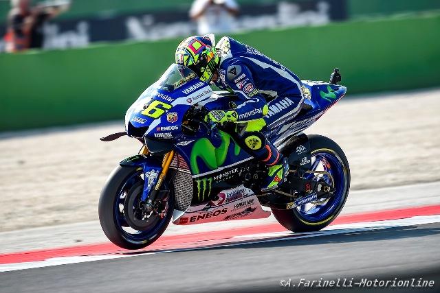 MOTO. S.Marino. Lorenzo da record, ma Rossi è in prima fila