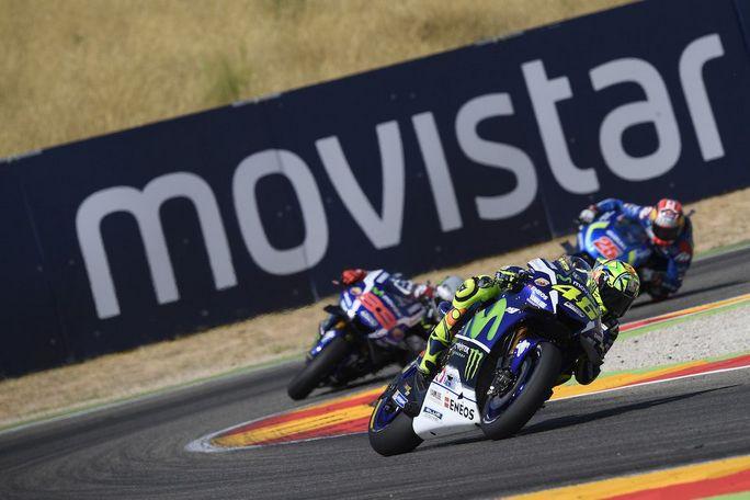 """MotoGP Aragon: Valentino Rossi, """"Ho sperato di vincere, ma Marquez era troppo veloce"""""""