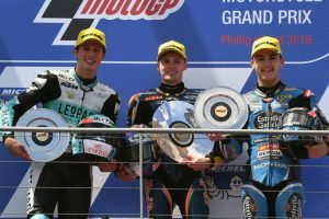Moto3 Philip Island: Andrea Locatelli conquista il suo secondo podio in carriera