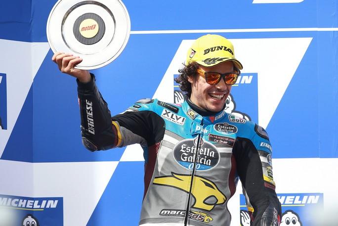 Moto2 Philip Island: Franco Morbidelli 2°al photo finish