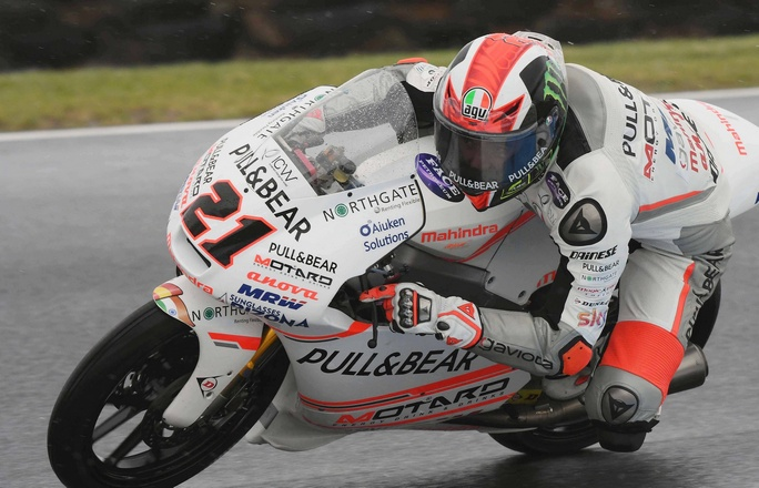 Moto3 Sepang, FP2: Sul bagnato svetta Bagnaia