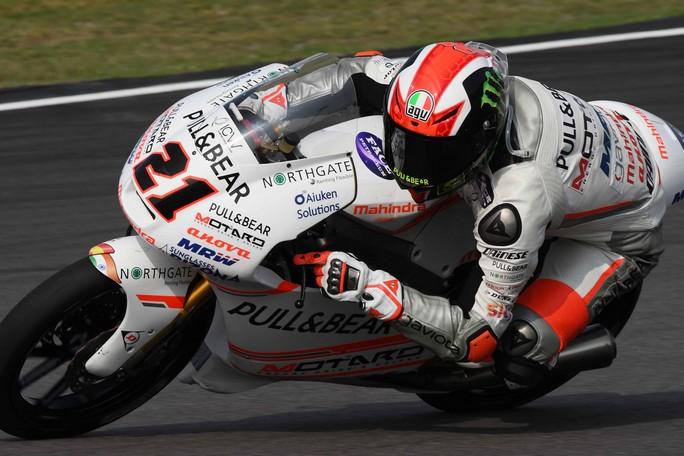 Moto3 Sepang, Warm Up: Bagnaia è il più veloce