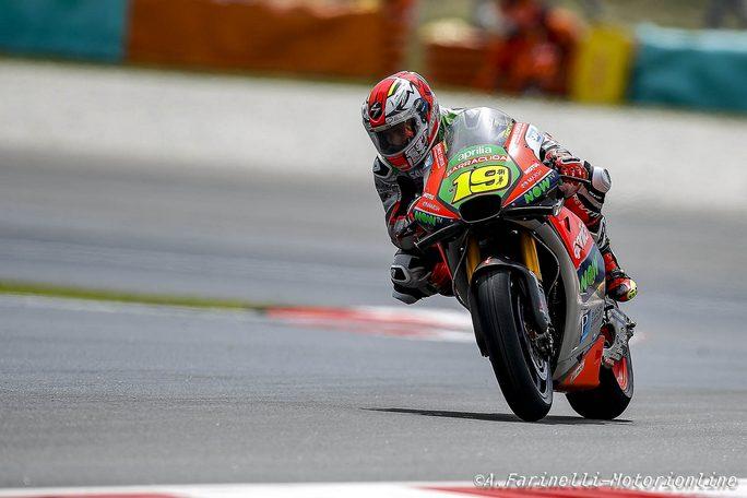 MotoGP Sepang: Miglior qualifica della stagione per Bautista e l'Aprilia